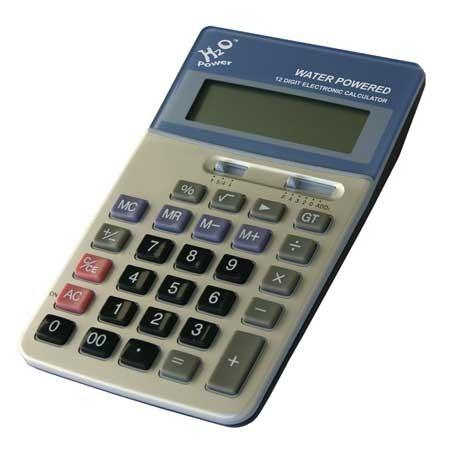 Calculadora de agua AFF 12